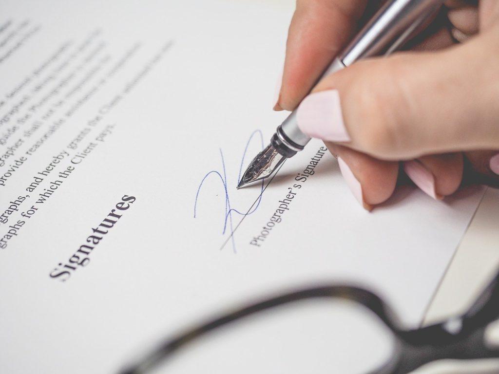 penmanship, pen, signature
